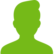 silhouette graphic of a person