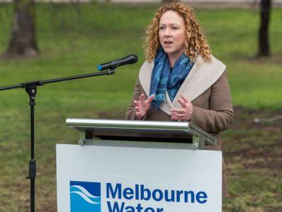 Member for Williamstown the Hon. Melissa Horne speaking