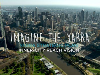 Video of inner city Yarra River Vision
