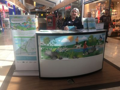 Image of Melbourne Water at community pop up
