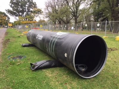 Image of a steel pipe