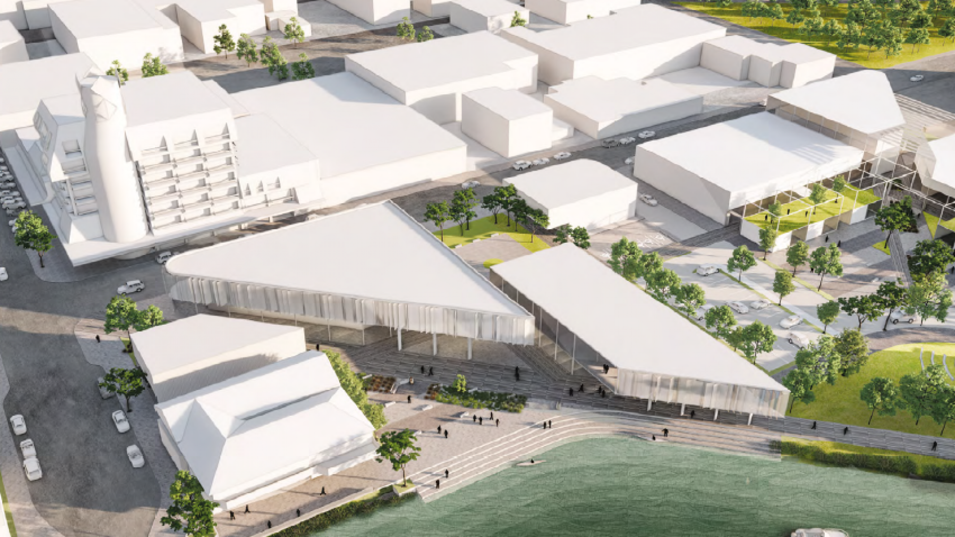 Concept image of new library
