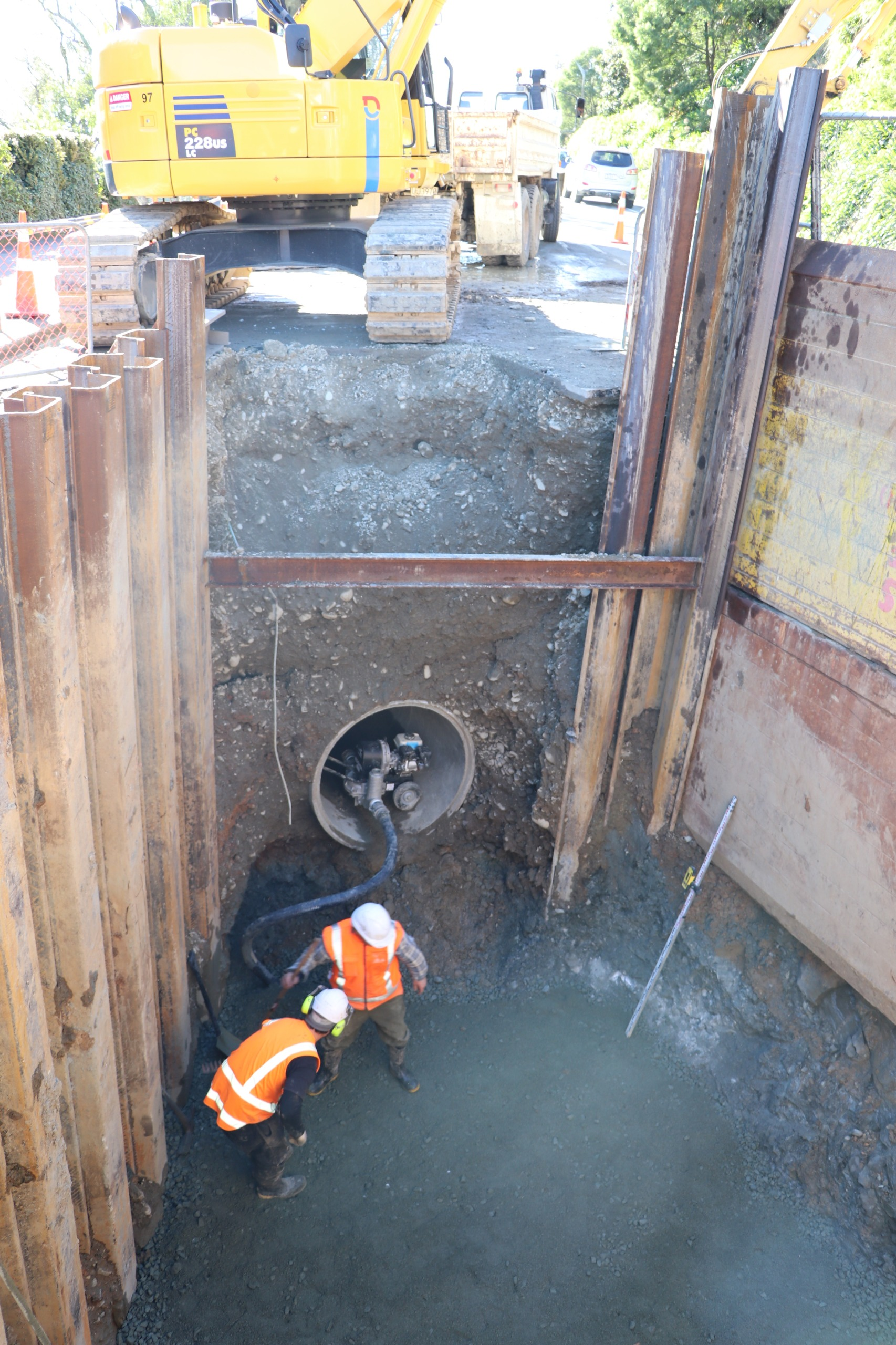 Stage 2 - Rutherford St stormwater