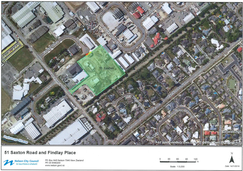 Right of Way Easement – Findlay Place
