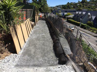 Snows Hill progress