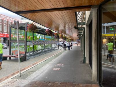 Trafalgar Street Stands complete
