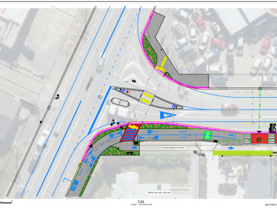 Parkers Road - Muritai Street Intersection design
