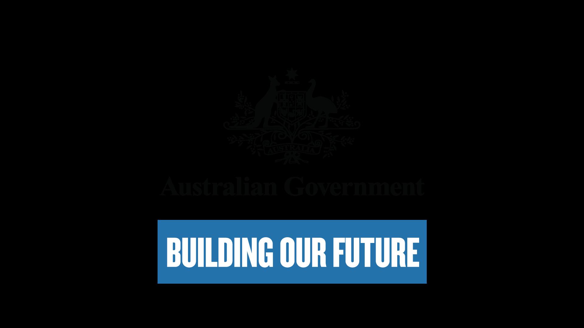 Australian Government - Building our future logo