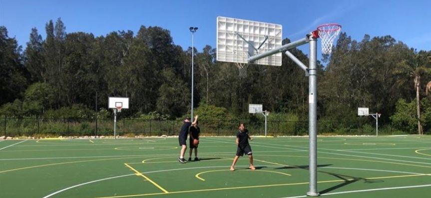 Boondah Road sports courts