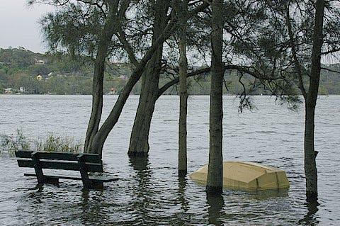 Seat Under Water