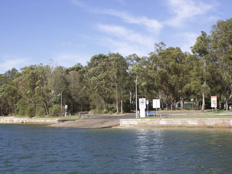 Rowland Reserve   Southern Boat Ramp
