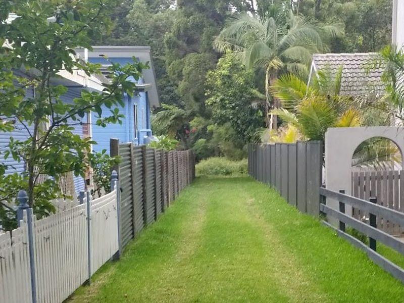 Overland flow alleyway