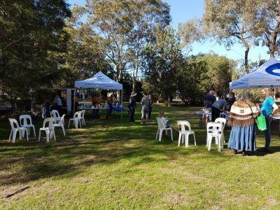 Community BBQ at Cross Street Reserve