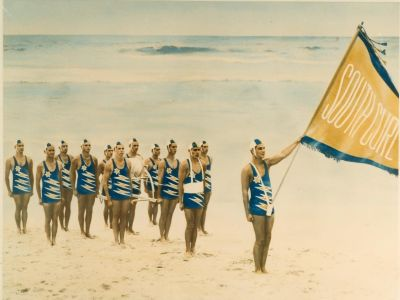 Surf Carnival South Curl Curl Life Saving Club 1965