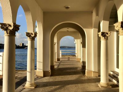 Manly Pavilion - archway