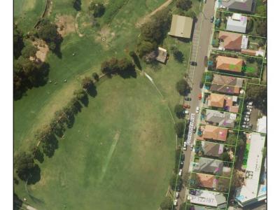 Balgowlah Oval amenities - site plan - April 2019