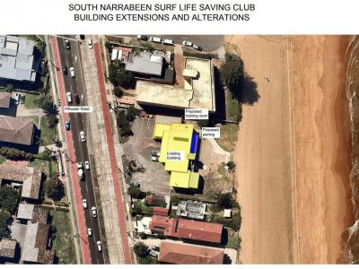 South Narrabeen Surf Club Aerial