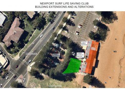 Aerial Plan Newport Surf Club