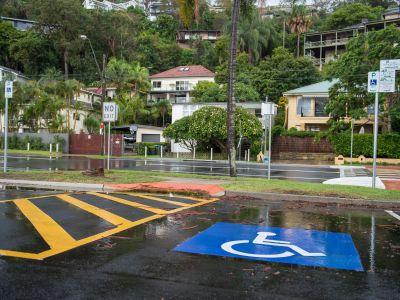 Accessible Parking, Palm Beach Wharf