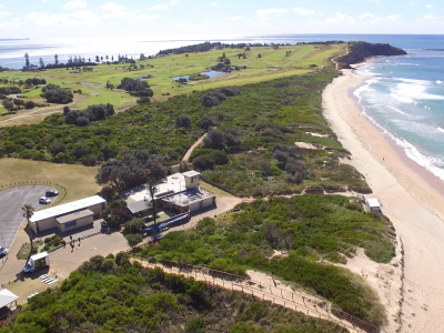 Long Reef SLSC Existing Building Aerial _Jul 2017