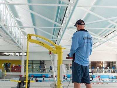 Pool Hoist, Manly Andrew Boy Charlton Aquatic Centre