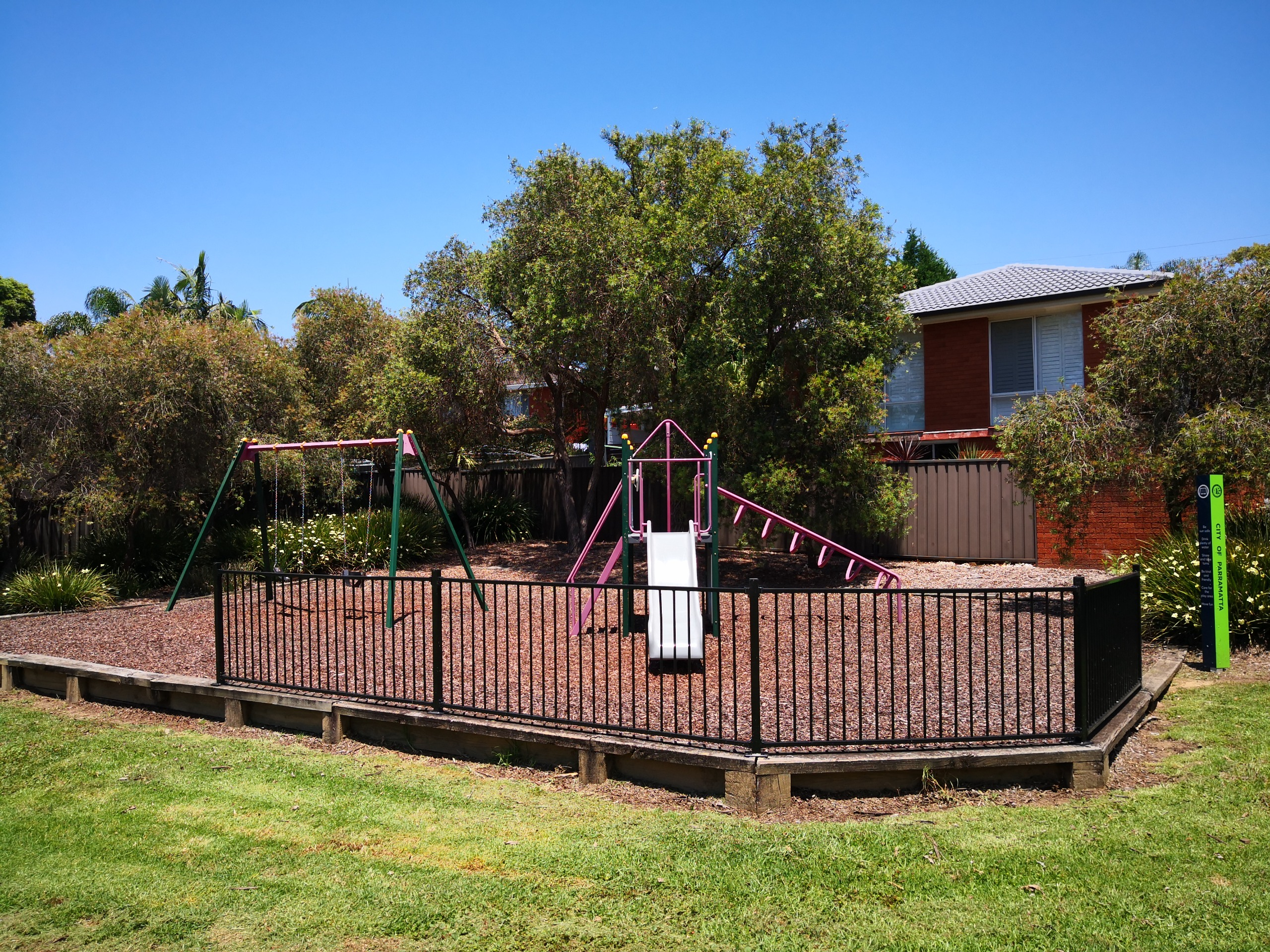 Melbourne Road Reserve Playground