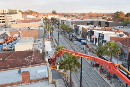 RSL Rooftop (Shakespeare Grove) Looking Back Towards Barkly Street