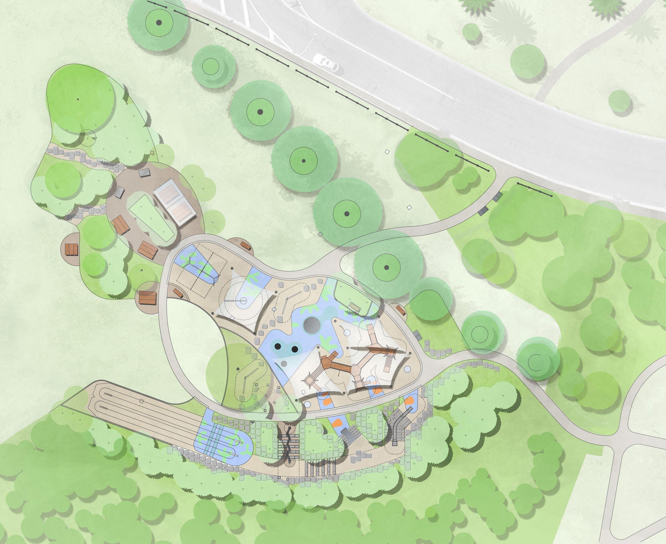 Point Ornond Playground concept design