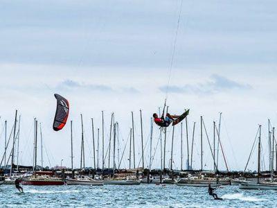 Kite Boarding Landscape   Kite Boarding Victoria