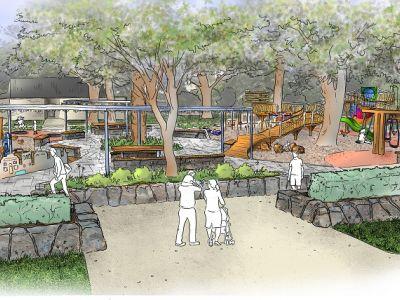 St Vincent Garden Playground concept image