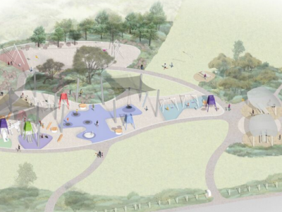 Point Ormond Reserve playground concept image