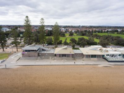 Elwood foreshore buildings
