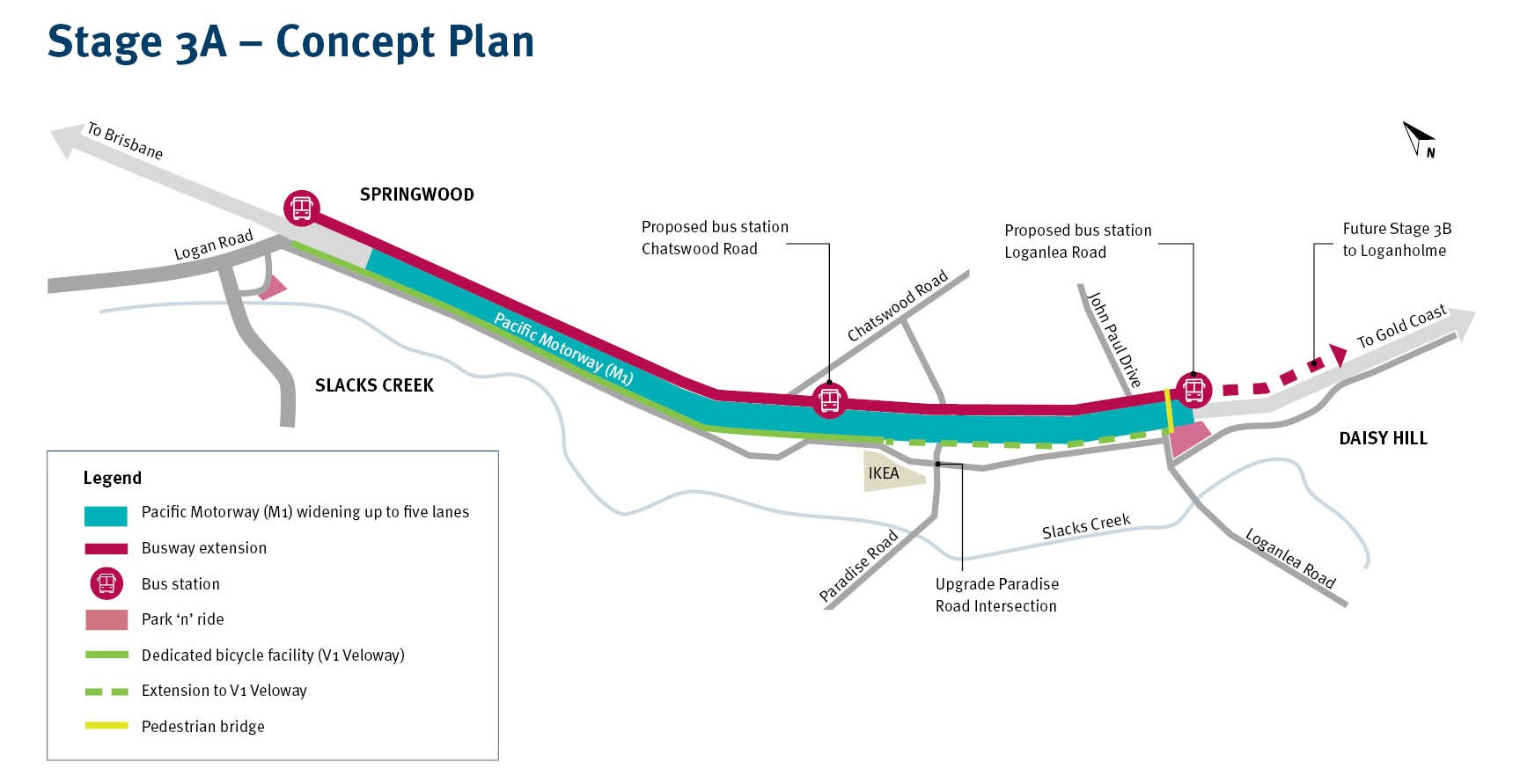 Concept plan for Stage 3A
