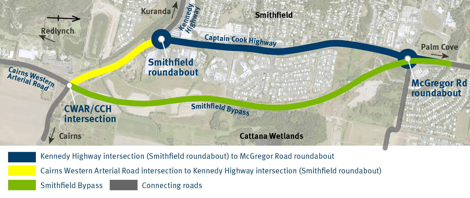 Captain Cook Highway - Smithfield Bypass