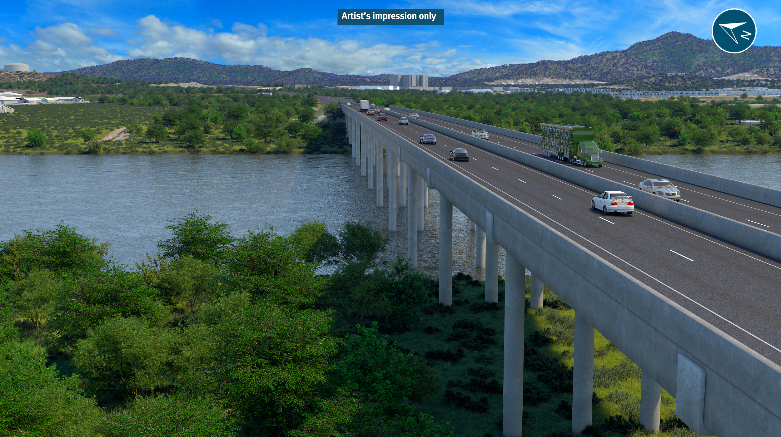 New Fitzroy River bridge crossing