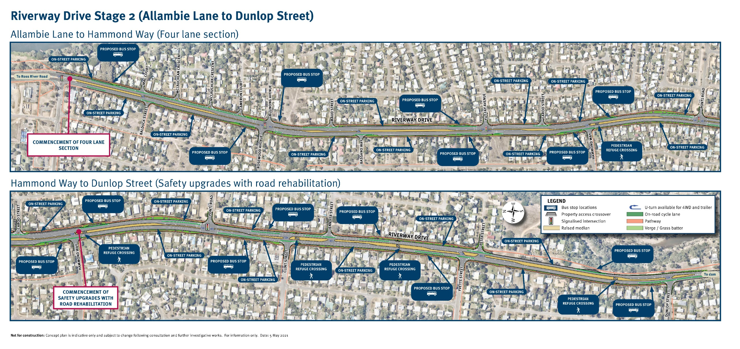 Riverway Drive Stage 2 (Allambie Lane to Dunlop Street)