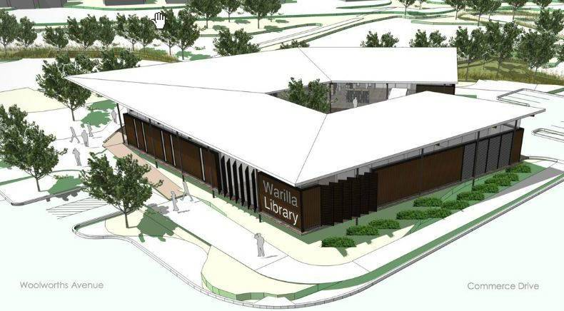 Warilla Library Design