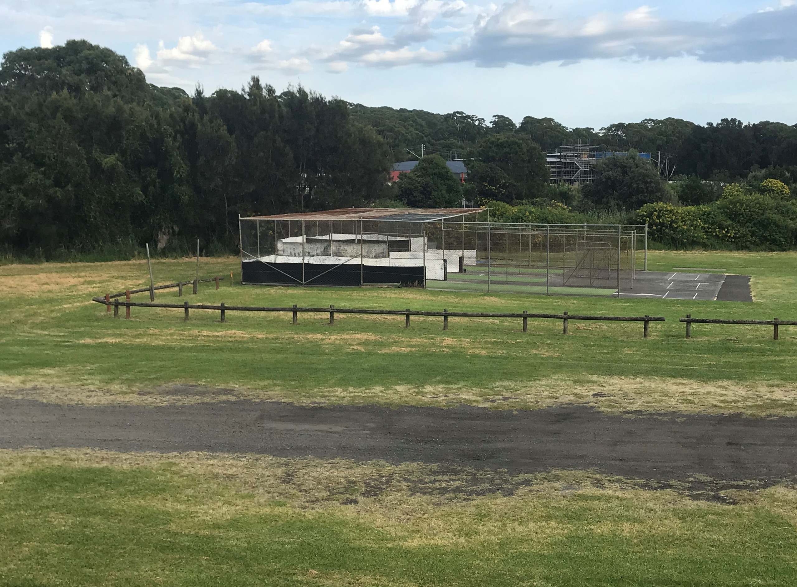 Before: Shellharbour Cricket Nets