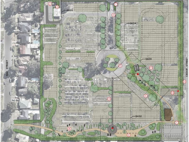 Albion Park Cemetery Master Plan Overview
