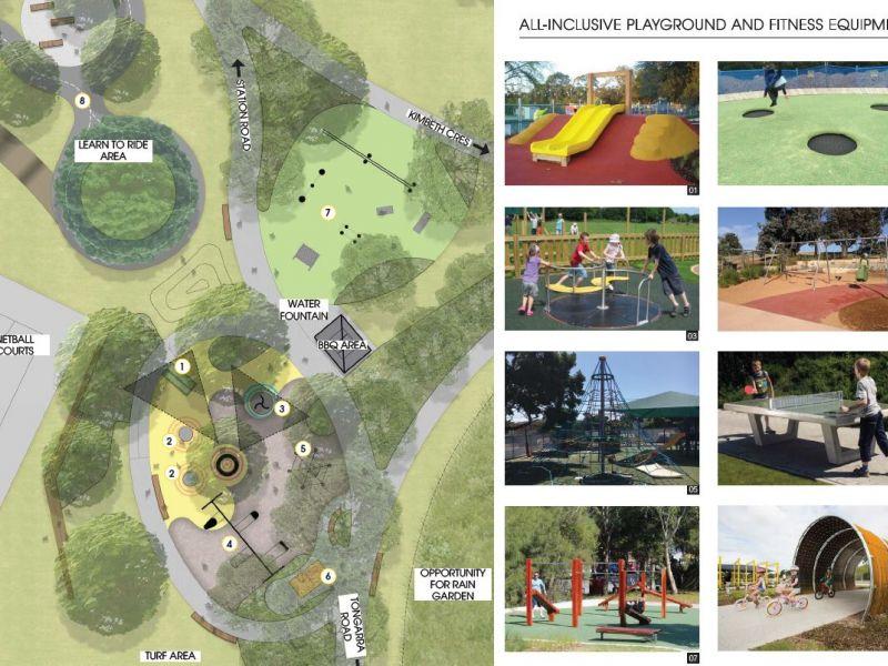 McDonald Park - Concept Playground