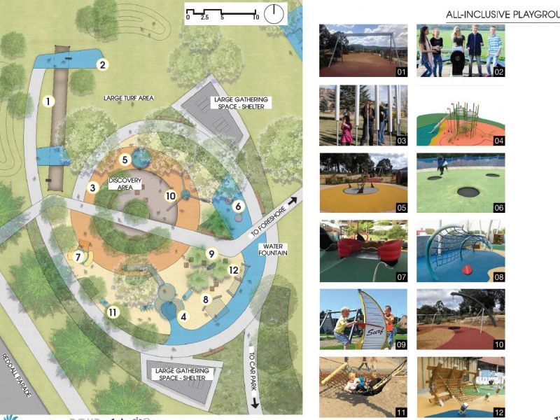Draft Concept Design -  All Inclusive Playground