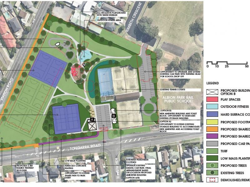 McDonald Park - Draft Master Plan