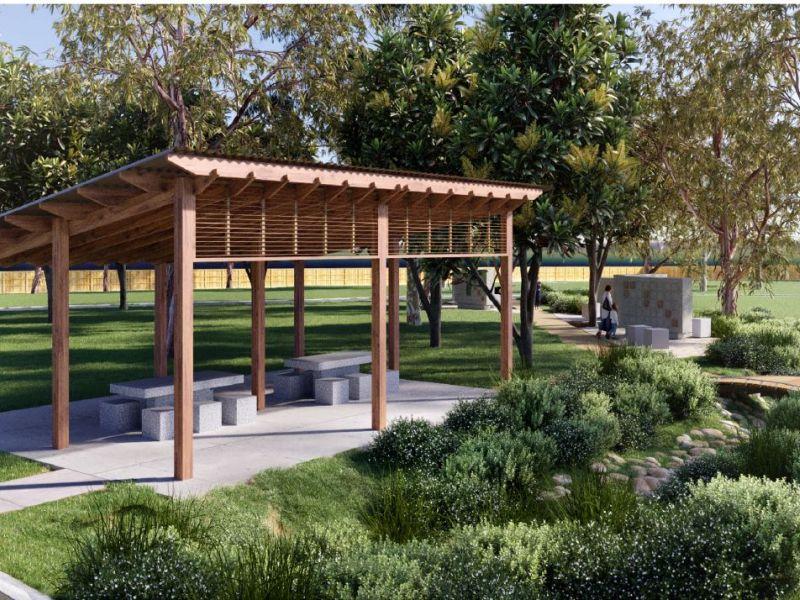 Albion Park Cemetery Memorial Garden Perspective