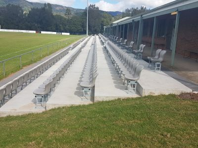 Terry Reserve, Seating