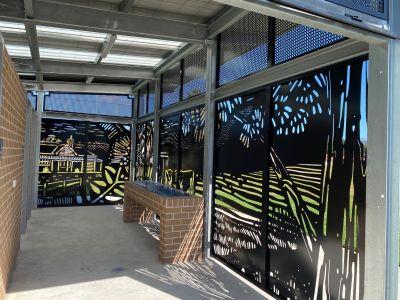 McDonald Park, Albion Park Rail by Claire Foxton