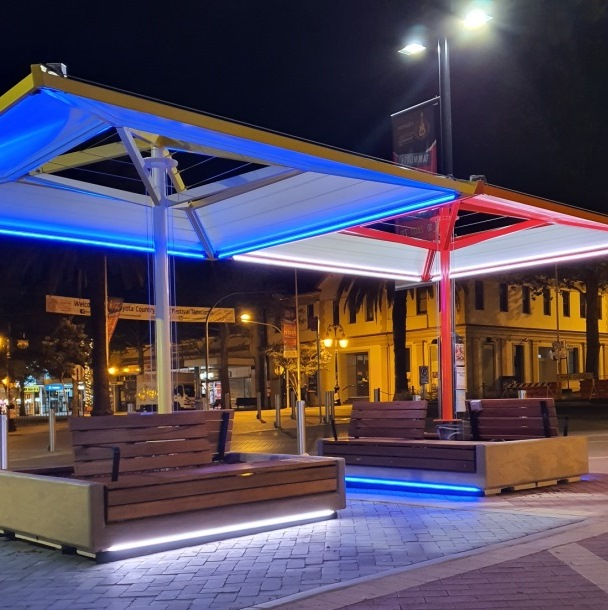 Fitzroy Street LED lighting