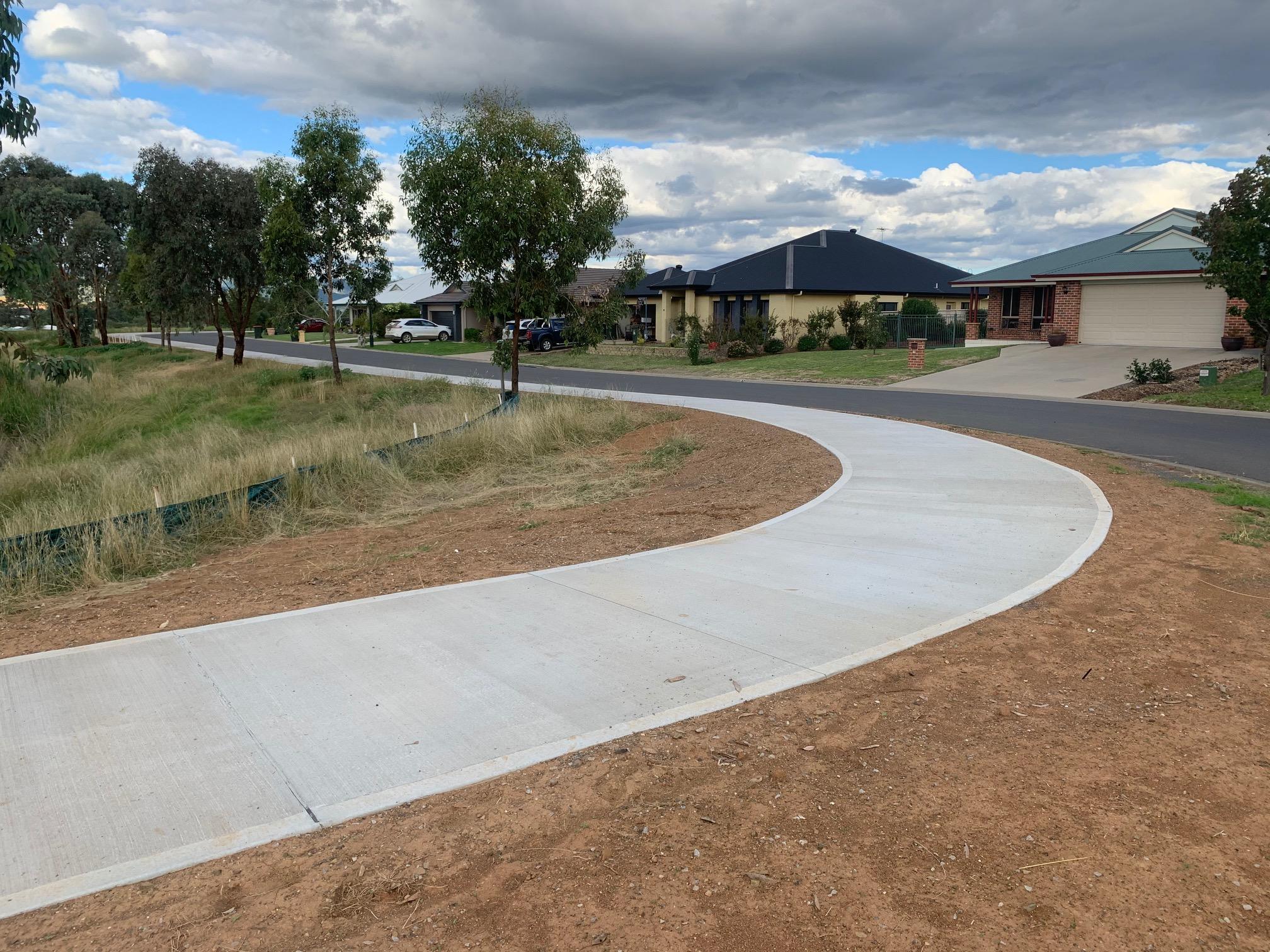 Calala Lane cycleway