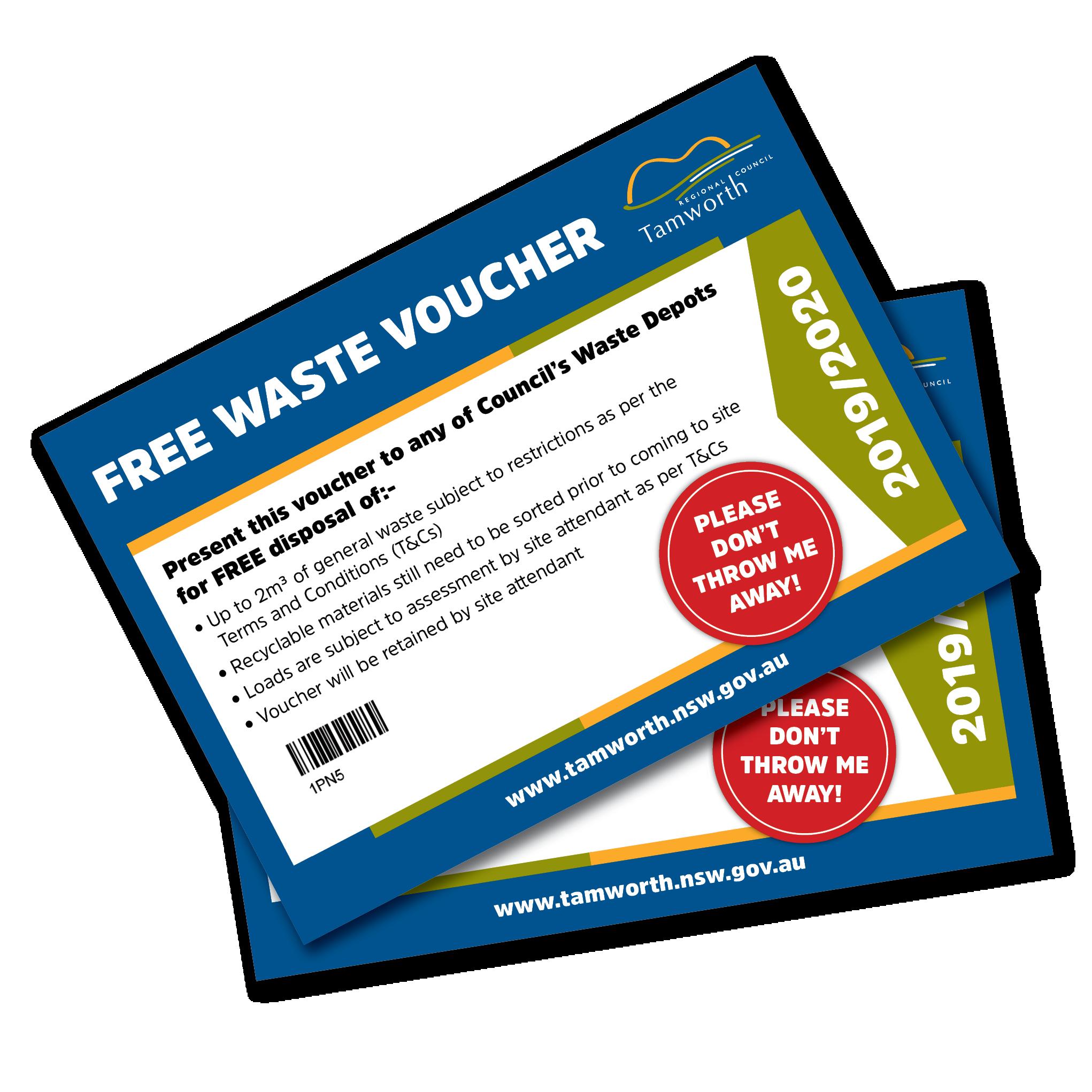 Waste Voucher Trial
