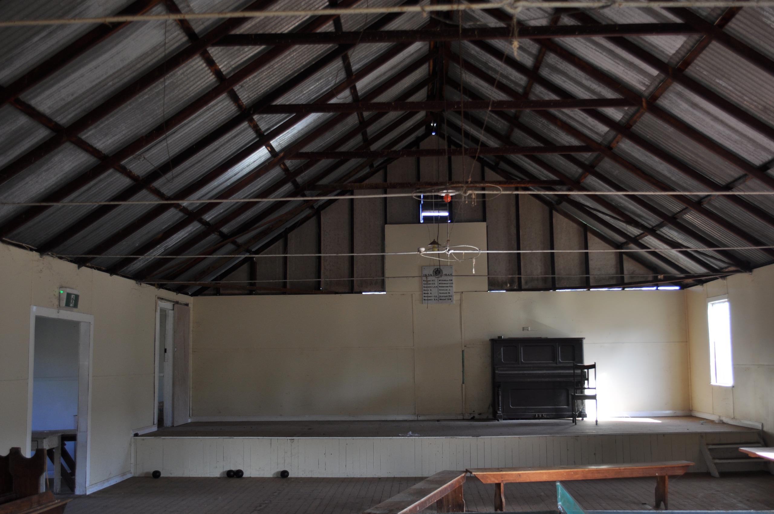 inside Weabonga Hall