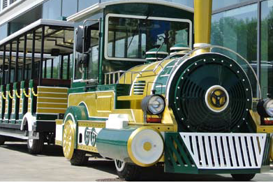 Tourist train example
